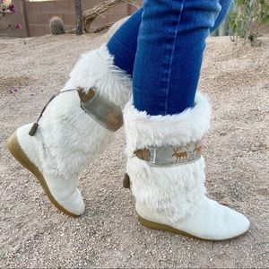 ⭐️GORGEOUS Vintage Italian Winter Boots